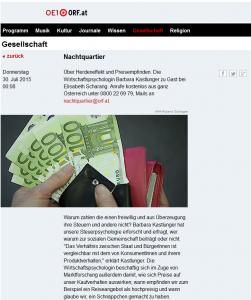 Ö1_Webpage